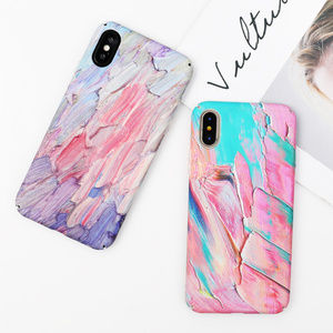 Accessories - LAST ONE iPhone Oil Painting Marble case